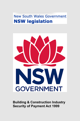Security Of Payment Act NSW