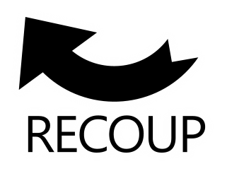 recoup logo - getting builders into the black
